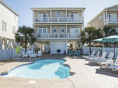 Photo for The Beach Bubble: 5 Bed/4.5 Reverse Floor Plan Home with Ocean Views, 100 Yards from Beach Access
