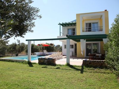 Photo for POOL VILLA TEO NEAR AFANDOU BEACH