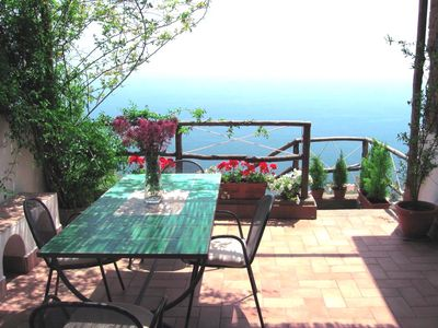 Photo for Wonderful Seaside House On The Amalfi Coast – Enjoy The Terrace & Sea View!