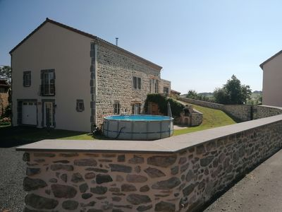 Photo for Spacious and luxurious cottage for 12 people in Espalem in Auvergne