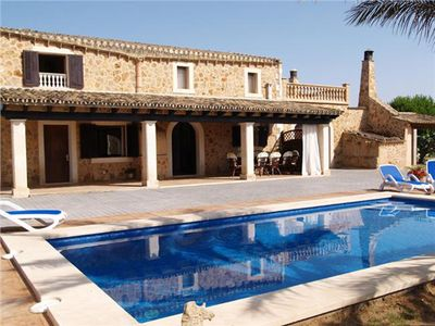 Photo for Villa with pool very close to the Es Trenc Beach