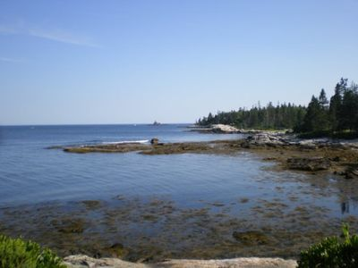 Photo for Spectacular views seen at this oceanfront property on the Atlantic Ocean`s rocky coast