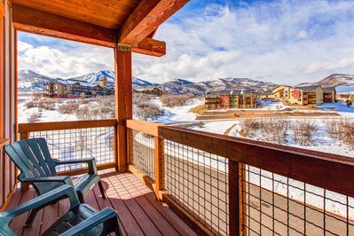 Balcony - Welcome to the mountains! Your rental is professionally managed by TurnKey Vacation Rentals.