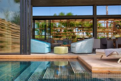 Living Area from Pool