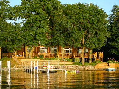 Photo for Luxury Lake Home with Guest House & Game Room