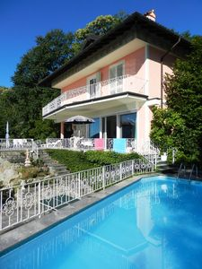 Photo for Lake Maggiore- holiday house with pool