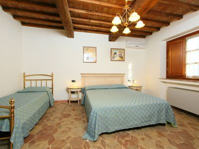 Photo for Vacation home CASALE FONTE in Roccastrada - 9 persons, 3 bedrooms