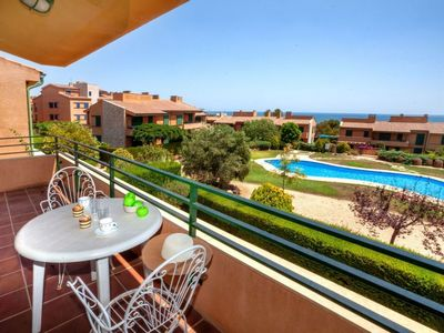 Photo for Calafat Apartment, Sleeps 6 with Pool