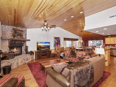 Photo for Heavenly Pines: Pool Table! Wood Burning Fireplace! DirecTV! Gas BBQ! Central Location!