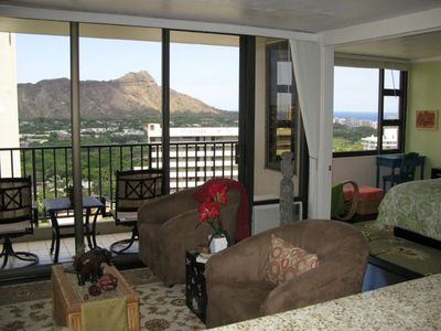 Stylish Contemporary decorating with Breathtaking Views of Ocean & Diamond Head
