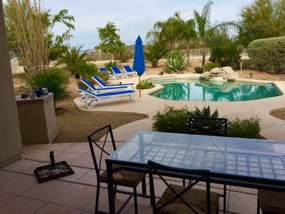 Photo for BENT TREE SERENE COUNTRY CLUB SETTING, SALT WATER HEATED POOL