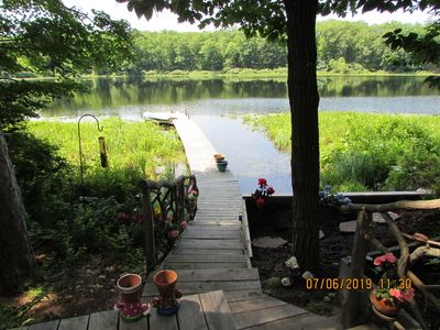 Lake House with great fishing