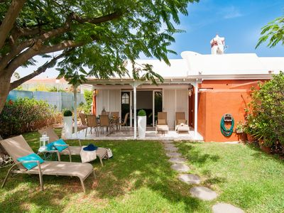 Photo for 2 BEDROOM BUNGALOW IN A QUITE AREA OF MASPALOMAS WITH HOTTUB NEAR THE GOLF CLUB