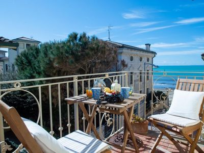 Photo for Holiday apartment on the seaside in San Vincenzo town