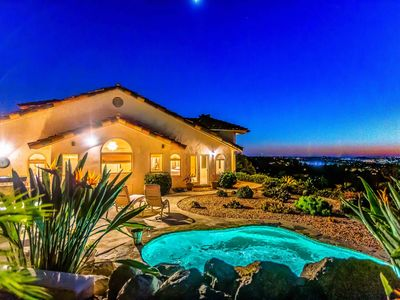 Photo for Ocean View Gated Estate Home in Vista, CA