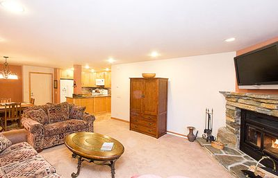 Photo for Updated Cozy 1 Bedroom 1 Bath: Walk to Lifts