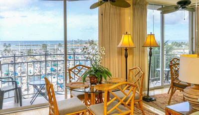 Photo for Aloha Condos, Ilikai Marina, Condo 790, Oceanfront, AC