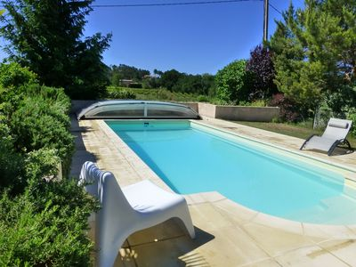 Photo for at the foot of Mt Ventoux, 1500 m2, private pool 8 X 4, quiet, 7 minutes walk from the village