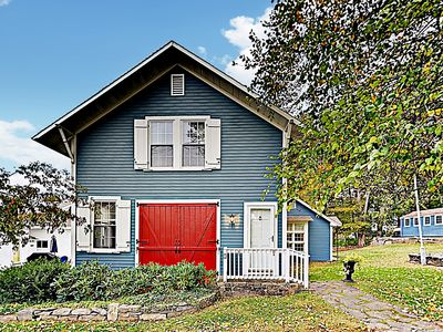 "Photo for New Listing! Classic New England ""Firehouse Cottage"" w/ Private Patio"