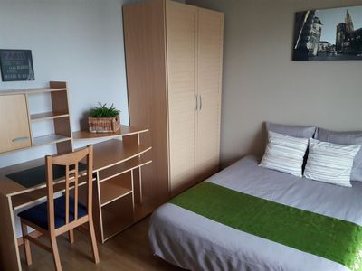 Photo for Fully equipped apartment just a step from Strasbourg (including parking and Wi-Fi).