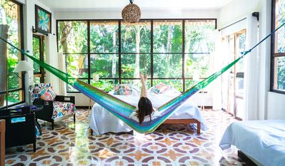 Photo for Wonderful B&B Cozy BungalowStudio Located in the Cancun Jungle 7Km from airport