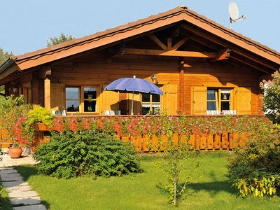 Photo for holiday home with view of the alps, free-standing, balcony and garden
