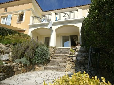Photo for Wonderful holiday home with swimming pool, near golf course and close to the beaches!
