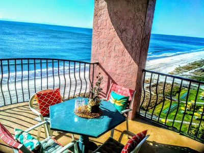 #1 Stunning Oceanfront End Unit at the Palms, Walkable, 2021 DISCOUNTS!