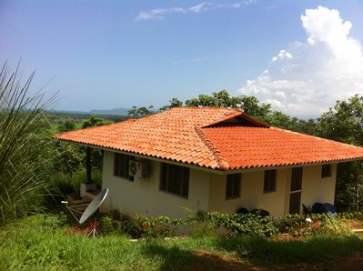Privacy and Hilltop ocean views of Isla Canas and beyond...
