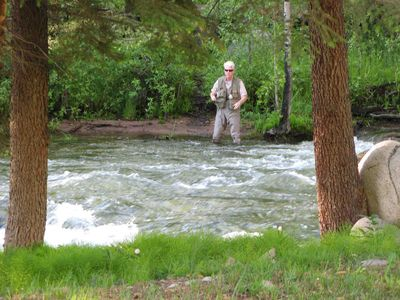 Best Fly Fishing right in our back yard!