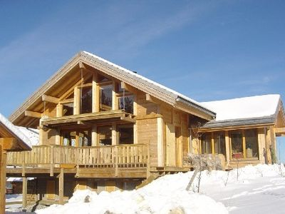 Photo for Luminous and comfortable architect chalet