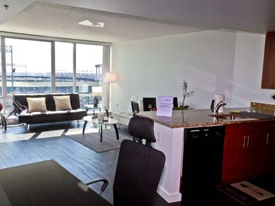 Photo for 1 Bedroom Downtown fully furnished Apt with City View