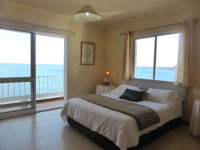 Ensuite Master Bedroom with a fantastic Sea View!
