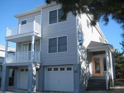 Photo for Gorgeous LBI Single-Family Oceanside - 6th from Beach w/Water and Sunset Views!