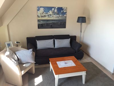 Photo for Modern Holiday Apartment Close to the Beach with Balcony, Wi-Fi & TV