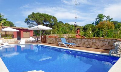 Photo for Club Villamar - Individual, cozy and bright villa with a garage, a private swimming pool situated...