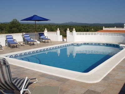 Photo for Spacious 2 bedroom villa with private pool and stunning panoramic views