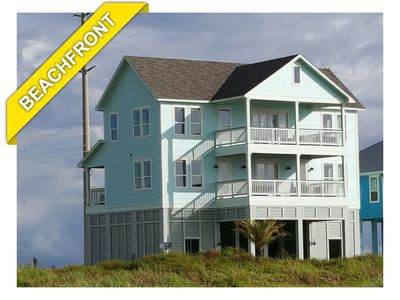 Photo for Beach Front! Hot Tub! New Custom Home: A Bit of Heaven