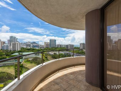 Photo for Canterbury Place 16D Monthly1 Bedroom Ocean,  Diamond Head Views, Furnished, Parking, Utilities