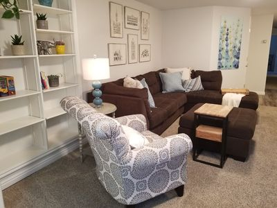 Photo for Well appointed, cozy Basement Apartment