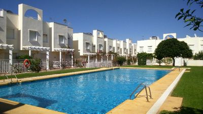 Photo for Two-Bedroom Townhouse 450m from the beach, Vera Playa