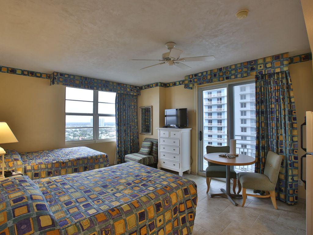Beautiful 2 Bedroom Ocean Front On The 15th Floor Wyndham Ocean Walk Resort Daytona Beach
