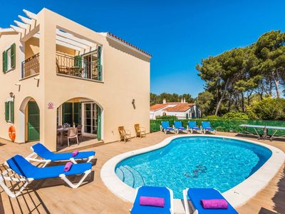 Photo for Villa Carmela - lovely villa close to beach in Cala Galdana with pool & Wi-Fi!