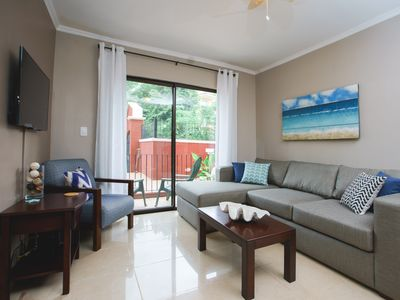 Photo for Beautifully Renovated Secured 2br/2bth Condo - 1 Block From Beach & Downtown