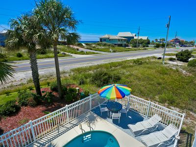 Photo for 3/3 Beach Cottage ~ Private Pool w Gulf Views on 30A