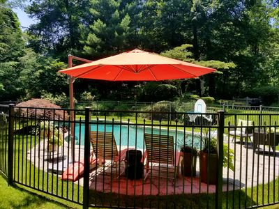 Photo for STUNNING POOL & SCREENED PORCH! Private home, close to EVERYTHING!!