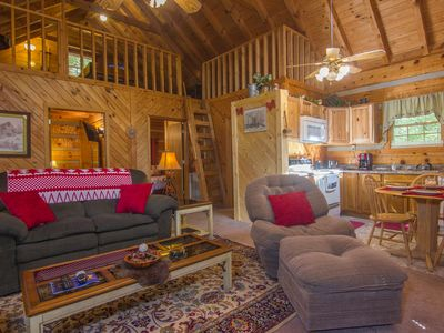 Photo for Log Cabin, Douglas Lake, Fishing,Private Hot Tub, Free WIFI, Pet Friendly !