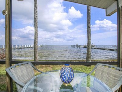 Photo for Bay House Bayfront  3 Bedroom / 2 Bath House