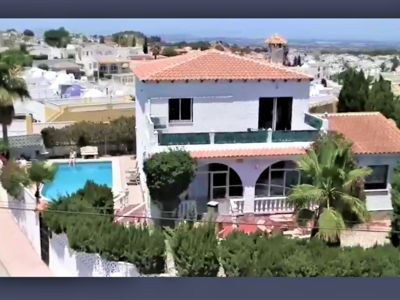 Photo for Large 5 bedroom villa private pool Costa Blanca Spain sleeps 12.
