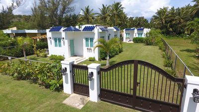 Photo for Radiant Villa Steps From Jobos Beach